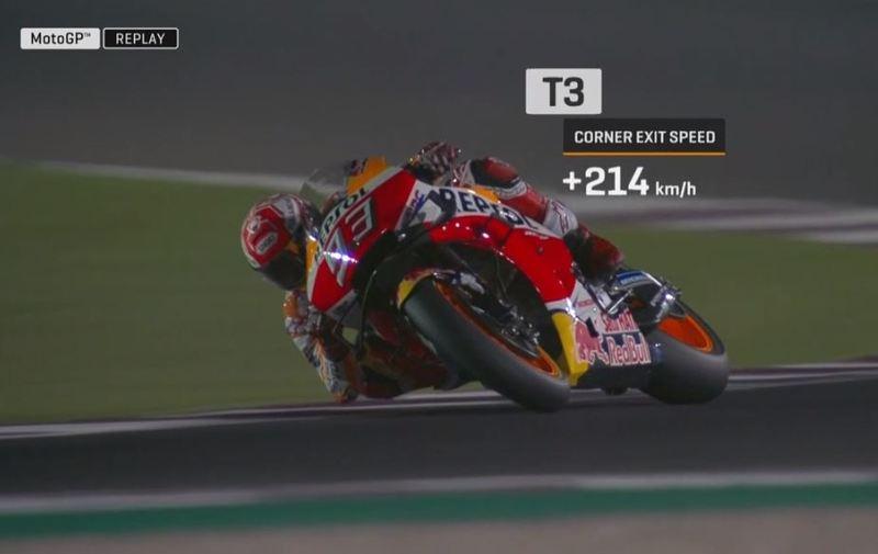 Márquez, en el GP de Qatar de MotoGP