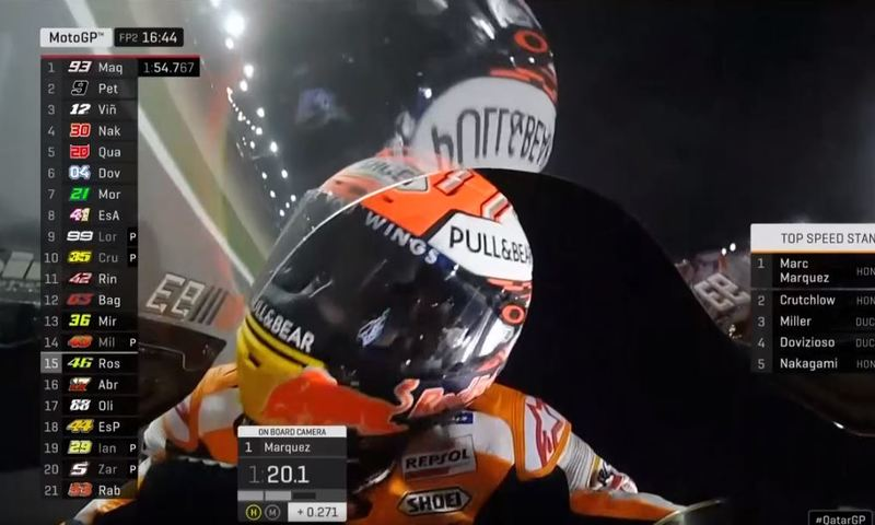 Marc Márquez, en el GP de MotoGP