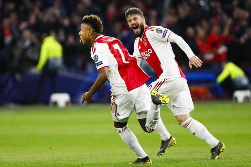 Imagen del Ajax - Juventus de Champions League