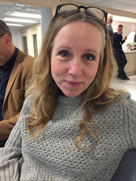 """SVT:s politikreporter Mari Forssblad säger att den här budgeten är första testet för fyrpartiuppgörelsen. """"Det är starten på samarbetet"""""""