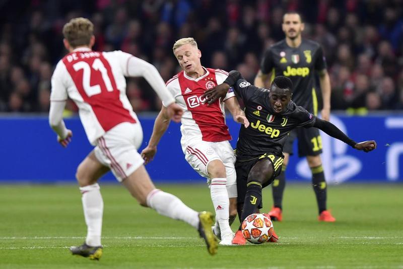 Imagen del Ajax - Juventus de UEFA Champions League