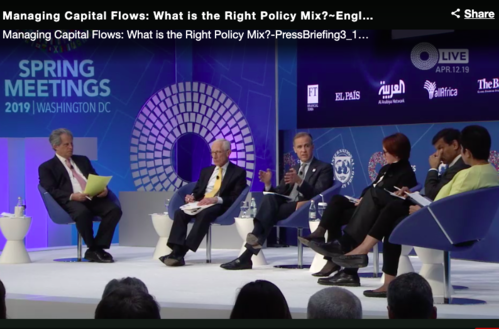 Managing Capital Flows: What is the Right Policy Mix?