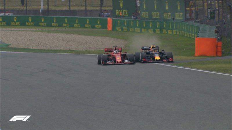 El duelo entre Vettel y Verstappen