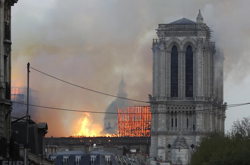 Algunas de las imágenes que llegan desde París