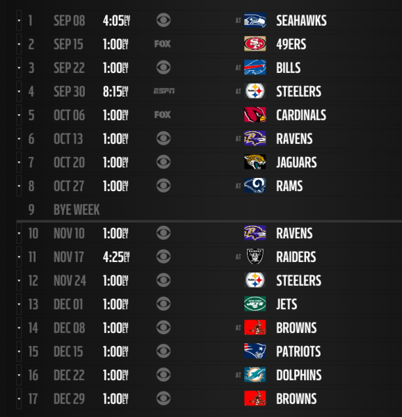 49ers Home Schedule 2020.2020 Mlb Schedule Leaks