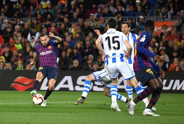 El gran gol de Alba FOTO: GETTY