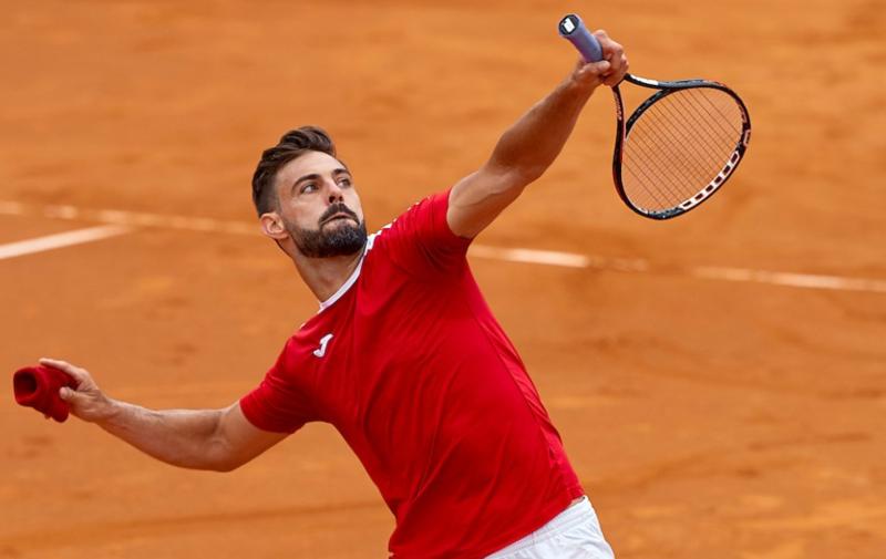 Marcel Granollers vivirá hoy su segundo enfrentamiento en dos días contra Nicolás Jarry (Barcelona Open Banc Sabadell)