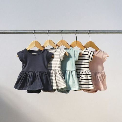 e32b2633c mini mioche @minimioche. Your fave dress onesie is back, in 5 spring  shades. 🌷#ministyle #summerstaple bit.ly/2UTD7nl