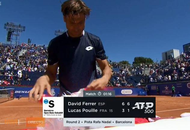 Ferrer, tras lograr su victoria 30 en Barcelona