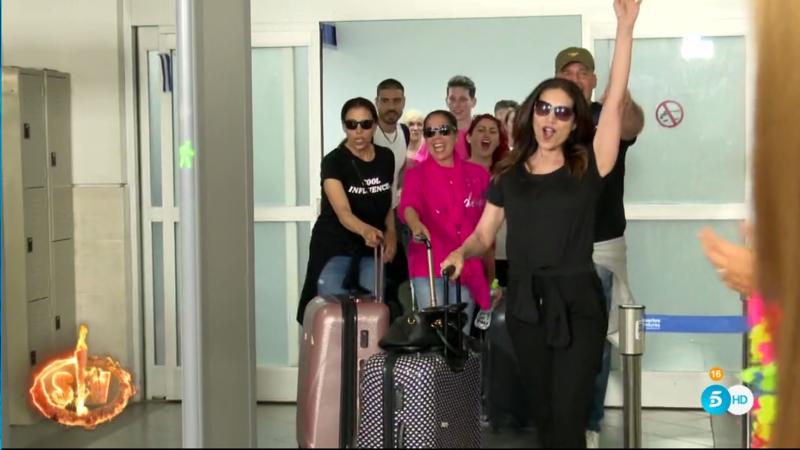 Así fue la llegada de los concursantes a Honduras