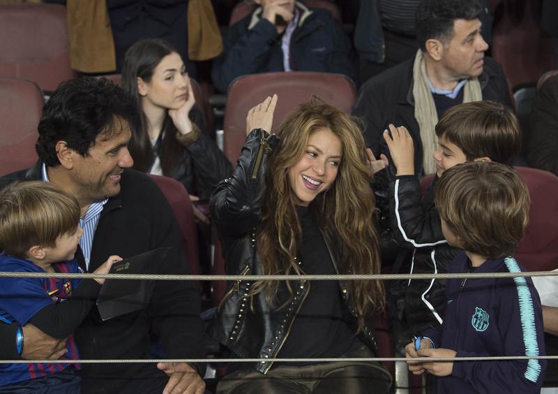 ¡Shakira, como una culé más! La colombiana tampoco se ha perdido la celebración del Barça