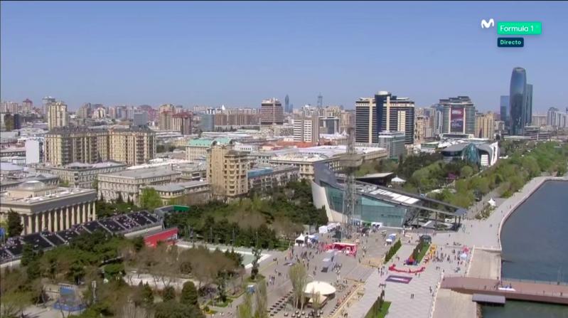 Todo listo en Bakú.