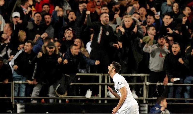 Imagen del Valencia - Real Madrid de LaLiga Santander