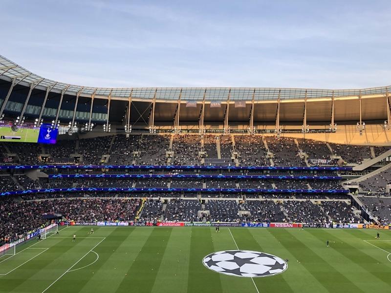 Este es el aspecto que presenta en estos momentos el nuevo estadio del Tottenham FOTO: UEFA.COM