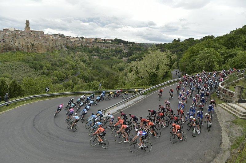 El Giro transita hoy por las carreteras de la región del Lazio