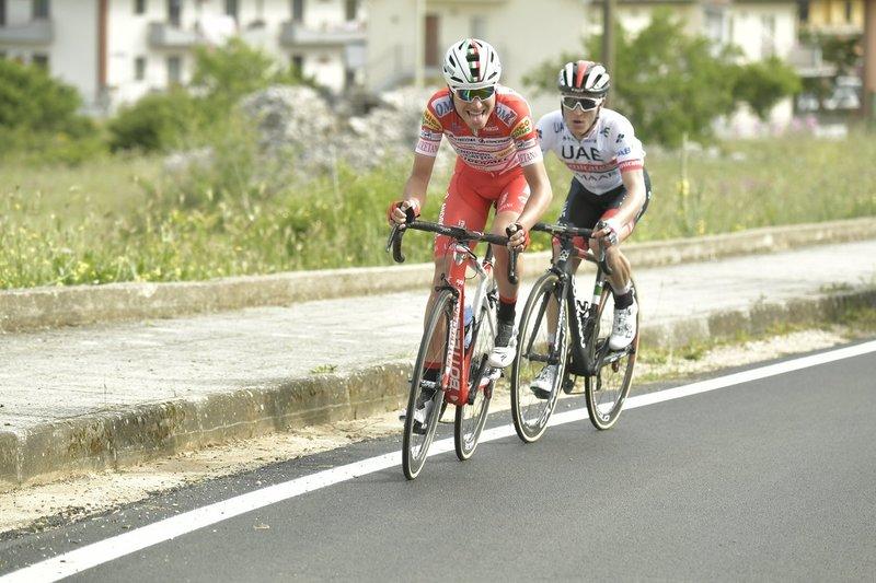 El dúo italiano que marcha en cabeza de carrera