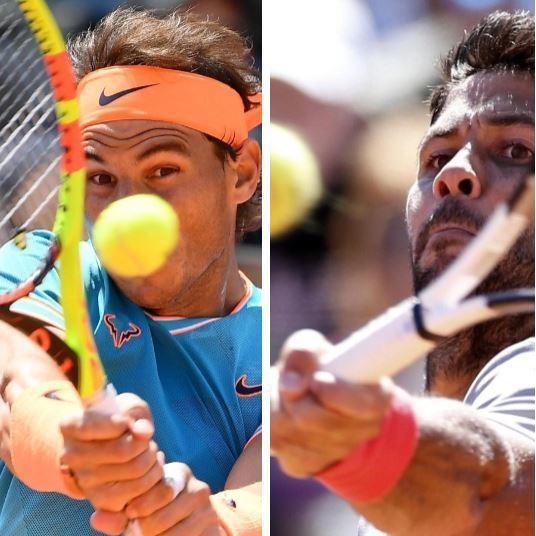 Rafa Nadal y Fernando Verdasco, confrontación de cuartos de final del Masters 1000 ATP de Roma