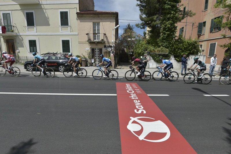 La escapada buena del día en el Giro de Italia