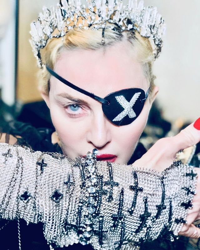 Madonna, en una de las fotos de su Instagram