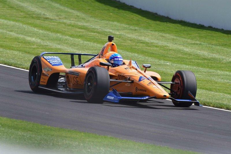 Alonso, en la clasificación de las 500 Millas de Indianápolis 2019