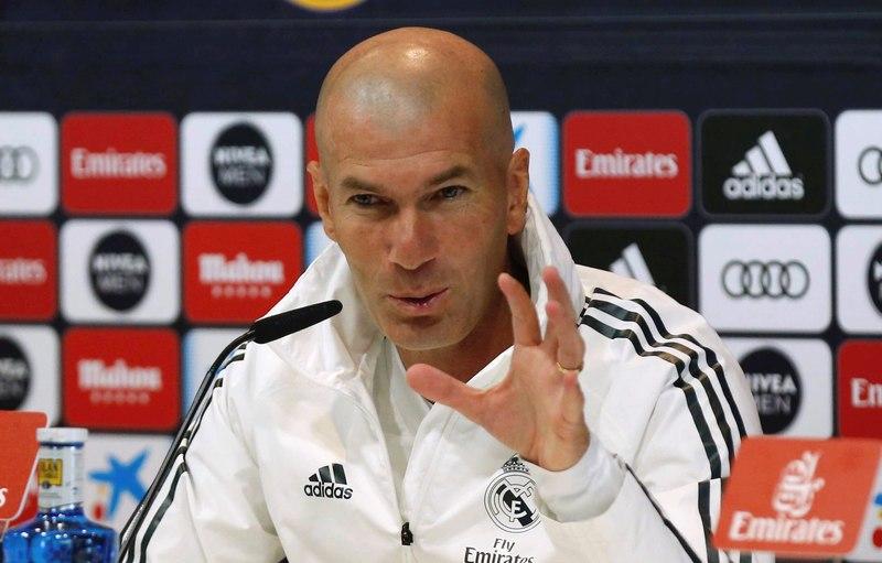 Zidane, en la previa del partido ante el Betis