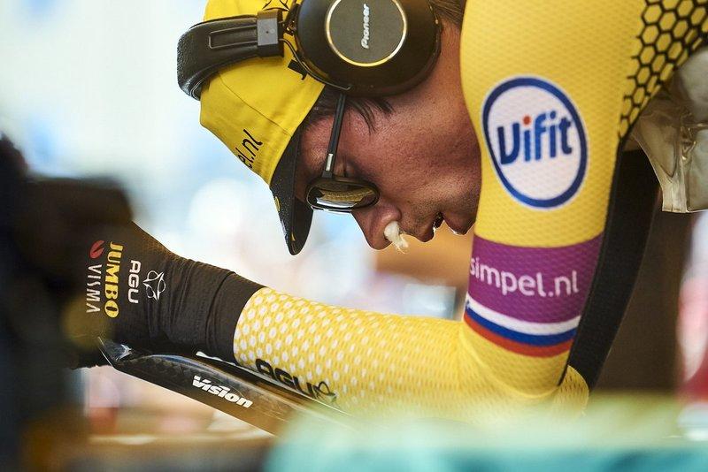 PRIMOZ ROGLIC (Lotto Jumbo), el gran favorito para ganar la etapa de hoy en el Giro 2019