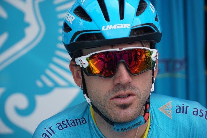 ION IZAGUIRRE (Astana), una baza en esta 14ª etapa del Giro de Italia para Miguel Ángel López