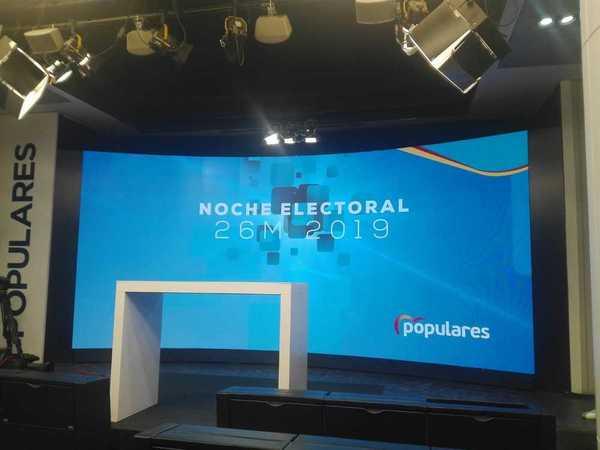 La pantalla. EFE/ Mónica Sequeiro