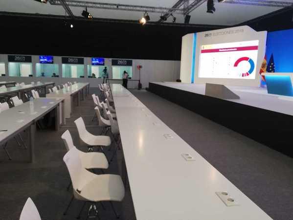 Cierra el centro de datos hasta las próximas elecciones. (Sagrario Ortega y Laura Camacho)
