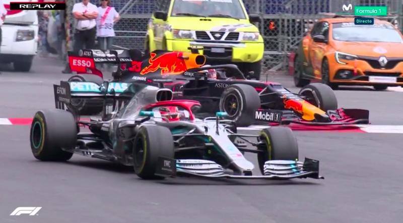 Duelo Hamilton-Verstappen.