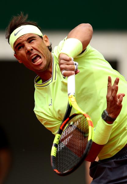 Rafa Nadal, camiseta con mangas en su debut en Roland Garros FOTO: GETTY