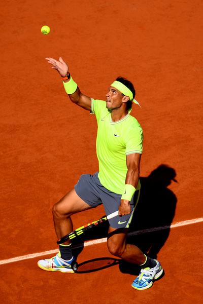 40-0. Al servicio Rafa Nadal. FOTO: GETTY