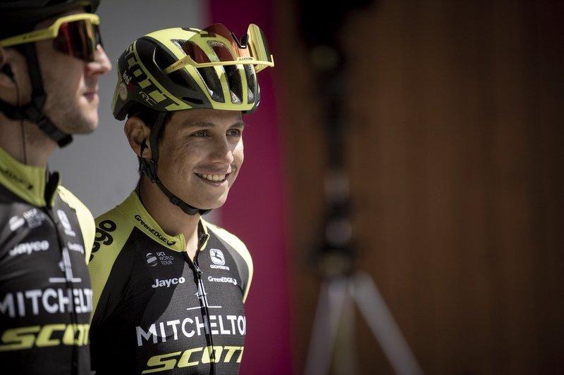 Johan Esteban Chaves (Mitchelton Scott), el corredor con mejor palmarés en la fuga del día en el GIro de Italia