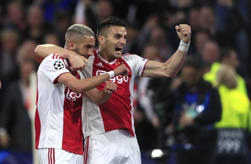 Imagen del Ajax - Tottenham de Champions League