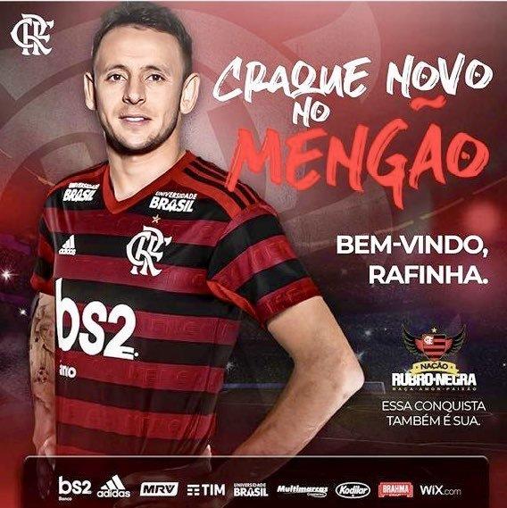 Rahinha, al Flamengo