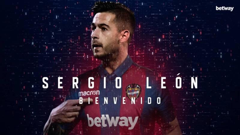 El Levante ya anuncia en su web el fichaje de Sergio León