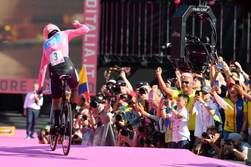 ECUADOR ya tiene a su gran campeón ciclista