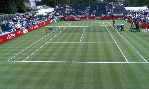 La pista del Hurlingham Club espera la llegada de Rafa Nadal y Marin Cilic. En Londres o alrededores se disputan varios partidos de exhibición de cara a Wimbledon, que empieza el lunes que viene
