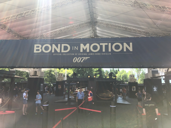 In Fans area in mostra, gratuitamente, le auto usate nei film di James Bond ✌🏼