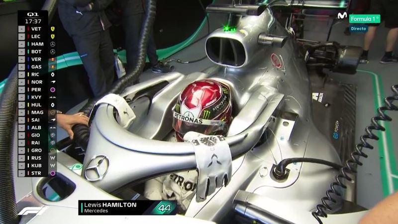 Hamilton preparado para la Q1.