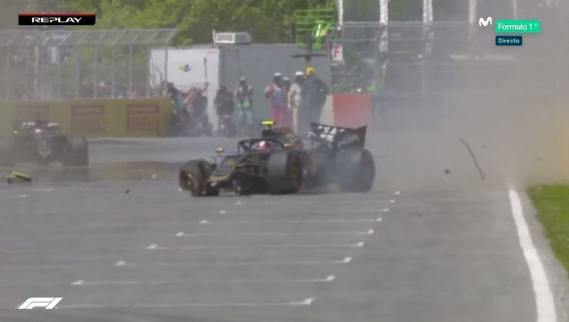 Accidente de Magnussen.