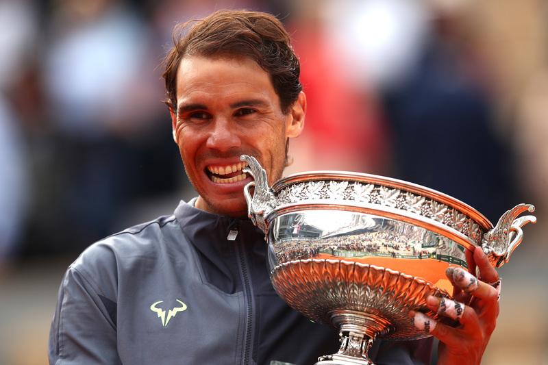 Nadal ha conquistado su decimosegundo trofeo de Roland Garros (Getty)