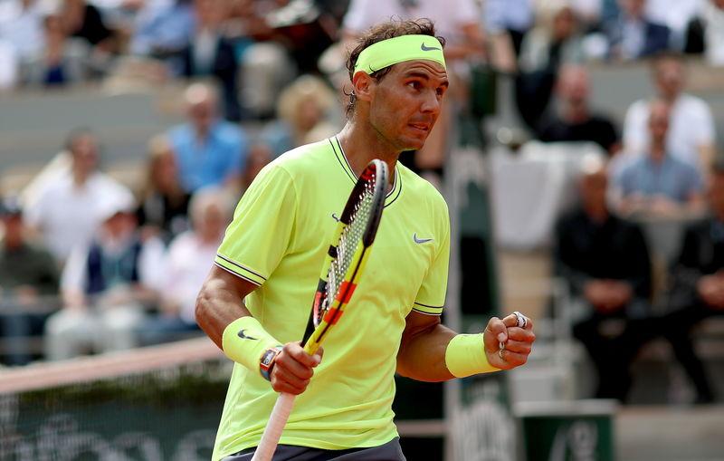 Nadal, a un set de revalidar corona en Roland Garros (EFE)