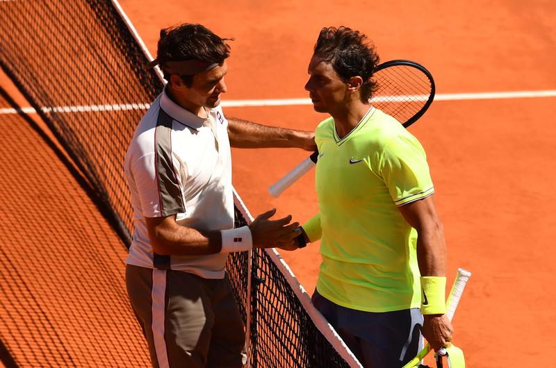 Nadal puede ponerse a dos Grand Slam de Federer (Getty)