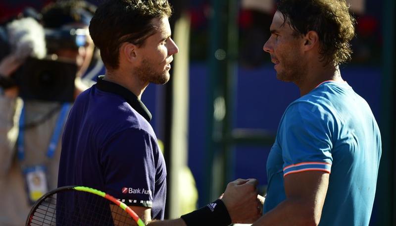 Dominic Thiem y Rafa Nadal se retan en busca de Roland Garros (Manel Montilla)