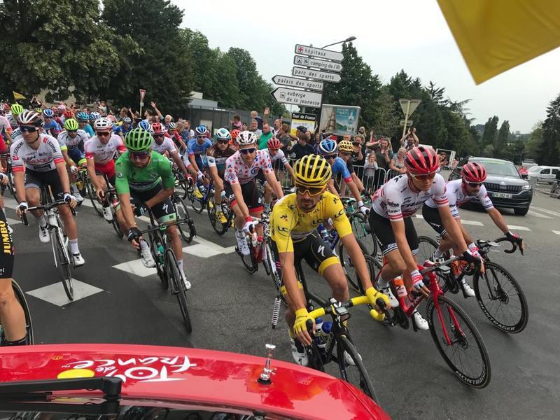 Alaphilippe, Wellens y Sagan, portadores de los principales maillots del Tour de Francia