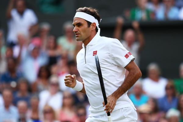 Roger Federer, ocho veces campéon de Wimbledon. Camino de los 38 años y sigue con la ilusión y el tenis intactos FOTO: EFE