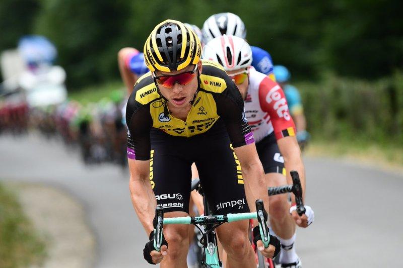 TONY MARTIN (Lotto Jumbo), una de las caras más visibles del pelotón en este inicio de Tour de Francia