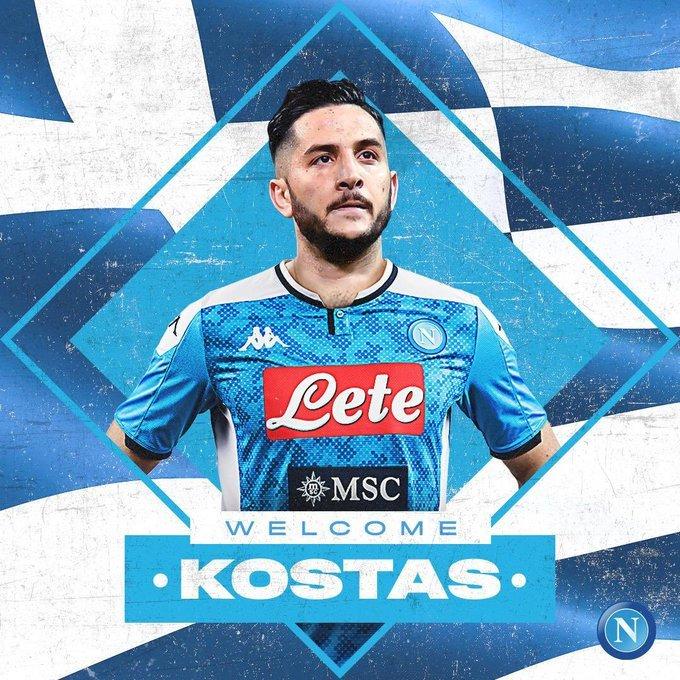 Manolas, anunciado como nuevo jugador por el Nápoles