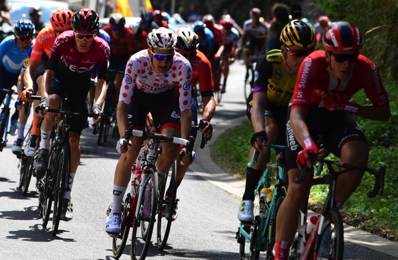 TIM WELLENS (Lotto Soudal) llevará el maillot de lunares rojos del Tour 2019, como mínimo, hasta el jueves